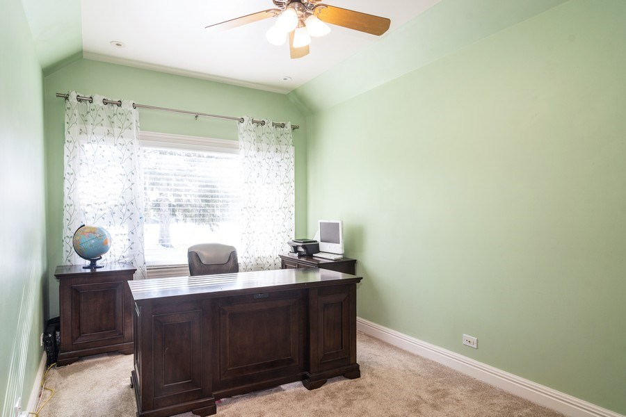 Real Estate Photography - 674 N Maple Ave, Palatine, IL, 60067 - Office