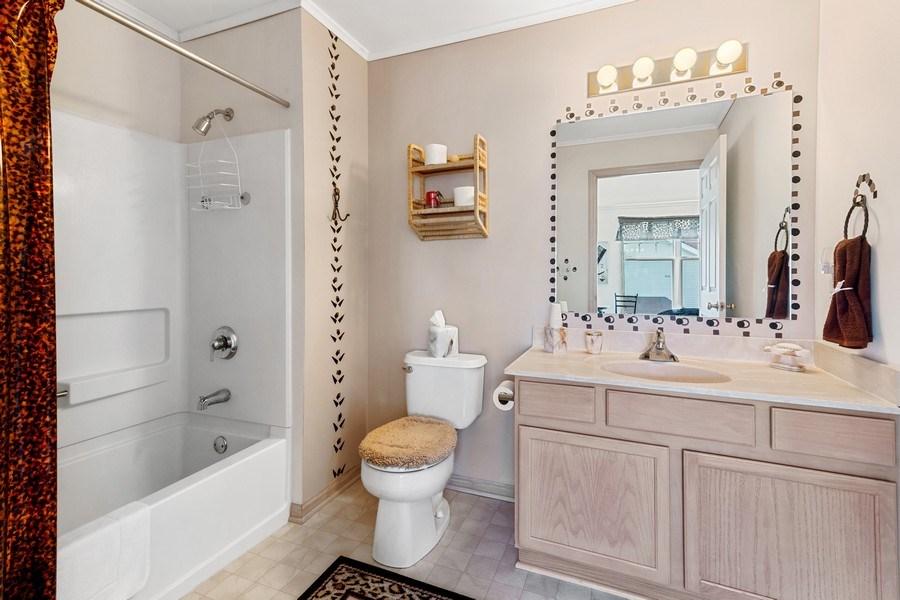 Real Estate Photography - 2153 Landings Lane, Delavan, WI, 53115 - Master Bathroom