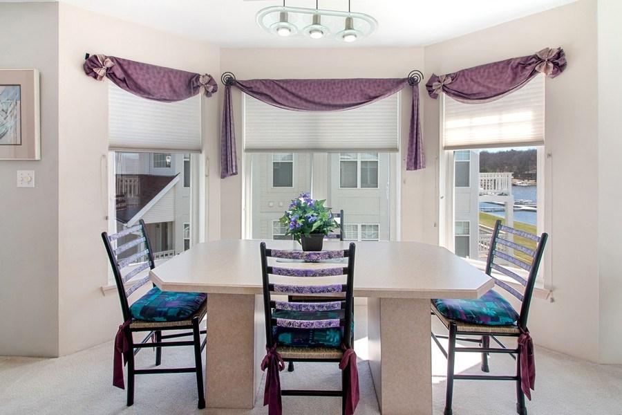 Real Estate Photography - 2153 Landings Lane, Delavan, WI, 53115 - Dining Room