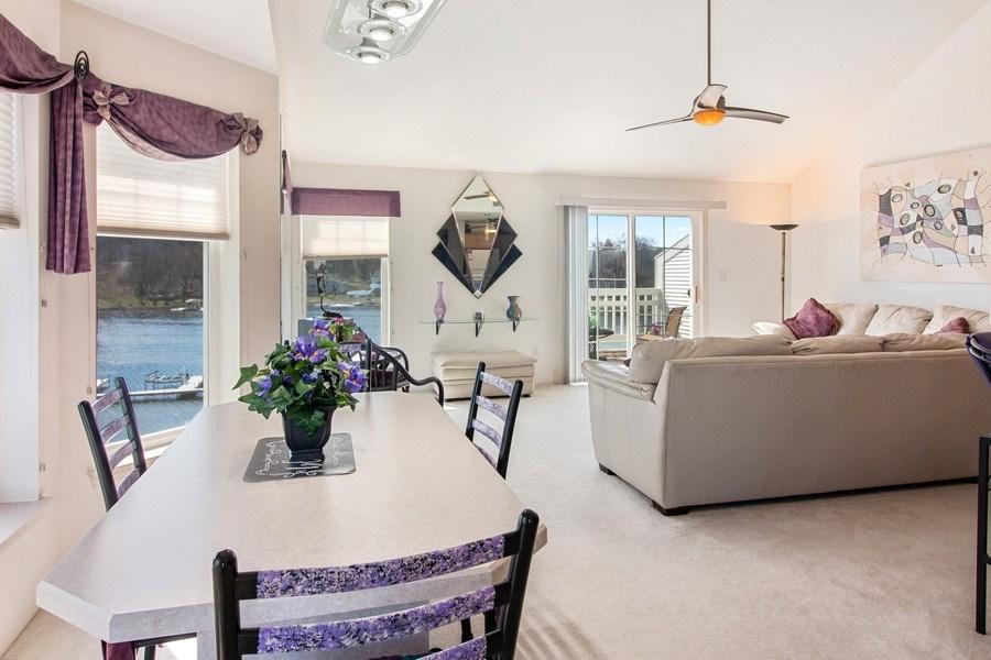 Real Estate Photography - 2153 Landings Lane, Delavan, WI, 53115 - Living Room / Dining Room