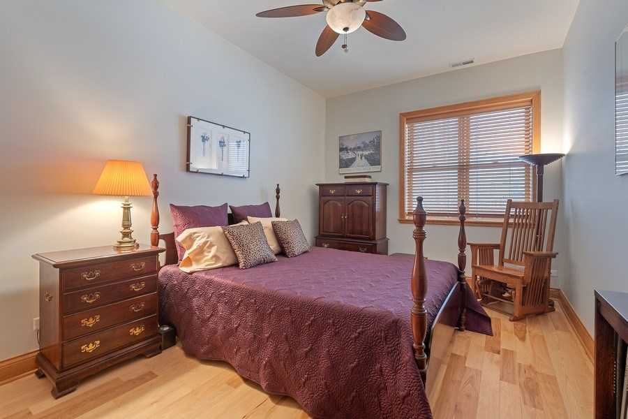 Real Estate Photography - 1728 W Winnemac, Chicago, IL, 60640 - 2nd Bedroom