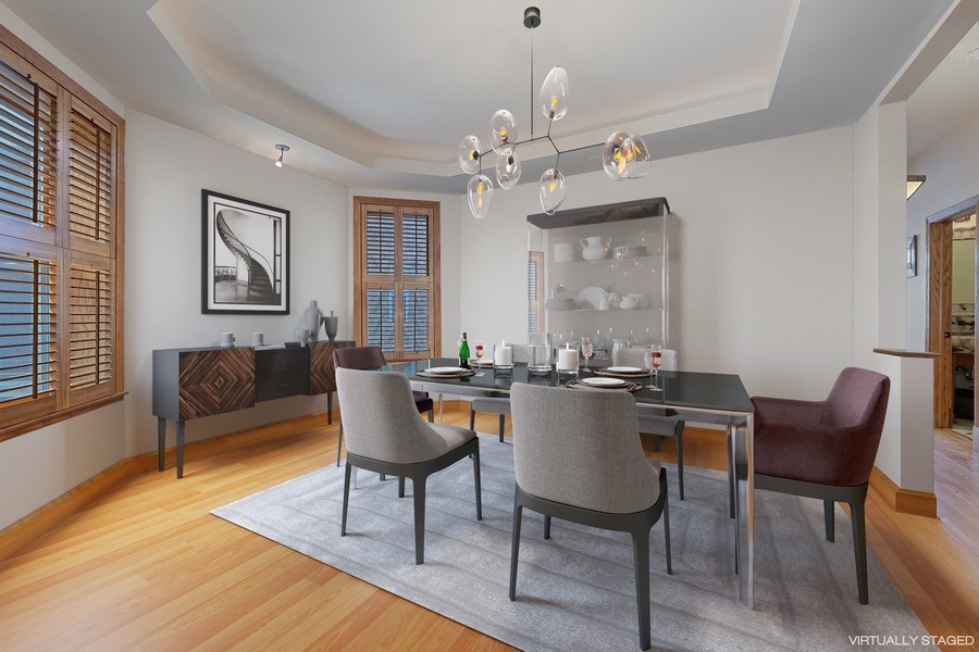Real Estate Photography - 1728 W Winnemac, Chicago, IL, 60640 - Dining Room