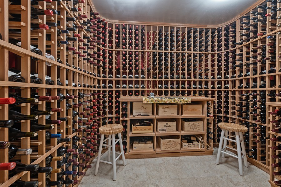 Real Estate Photography - 1728 W Winnemac, Chicago, IL, 60640 - Climate Controlled Wine Cellar