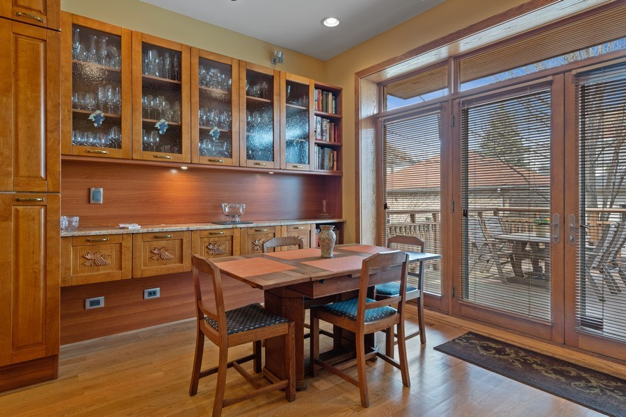 Real Estate Photography - 1728 W Winnemac, Chicago, IL, 60640 - Breakfast Area