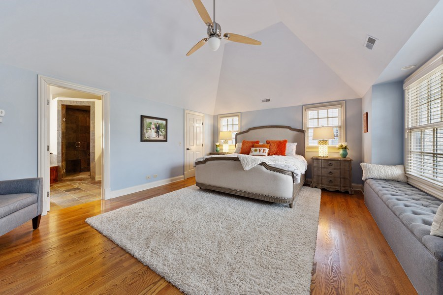 Real Estate Photography - 521 E Mayfair, Arlington Heights, IL, 60005 - Master Bedroom