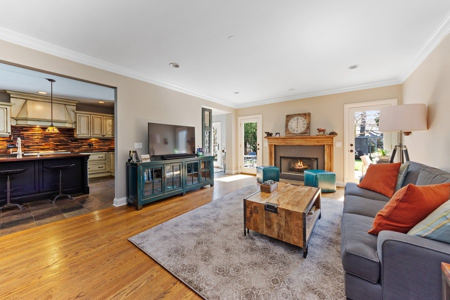 Real Estate Photography - 521 E Mayfair, Arlington Heights, IL, 60005 - Family Room