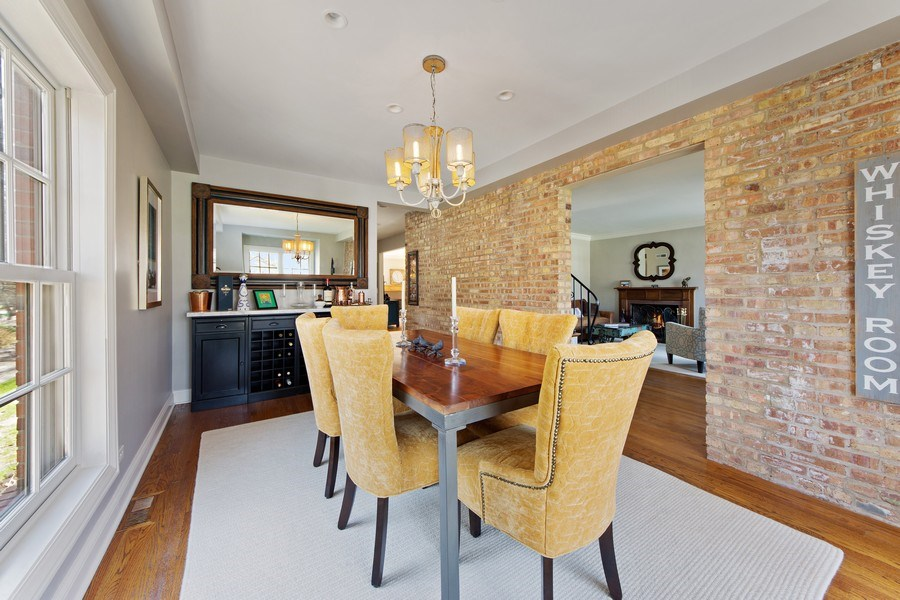 Real Estate Photography - 521 E Mayfair, Arlington Heights, IL, 60005 - Dining Room