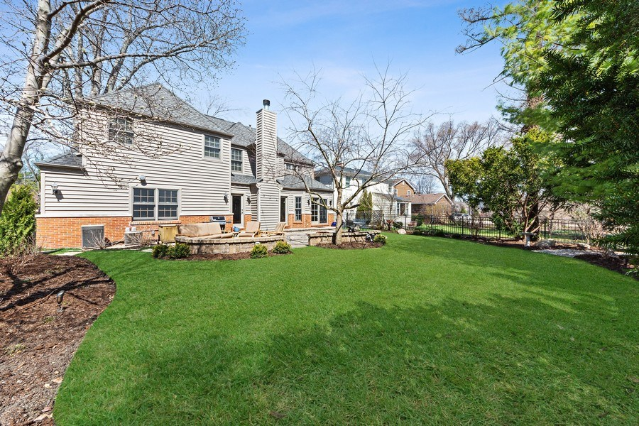 Real Estate Photography - 521 E Mayfair, Arlington Heights, IL, 60005 - Rear View