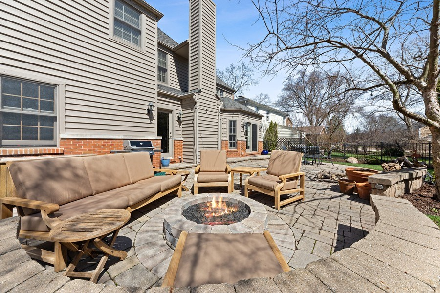 Real Estate Photography - 521 E Mayfair, Arlington Heights, IL, 60005 - Patio