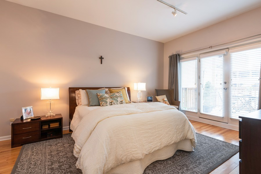 Real Estate Photography - 4641 N Magnolia Avenue, Chicago, IL, 60640 - Master Bedroom