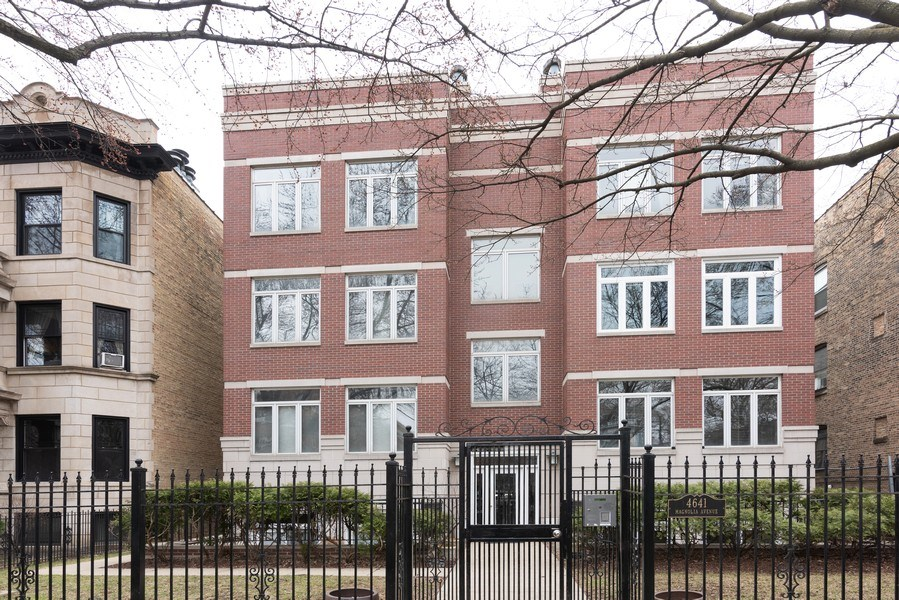 Real Estate Photography - 4641 N Magnolia Avenue, Chicago, IL, 60640 - Front View