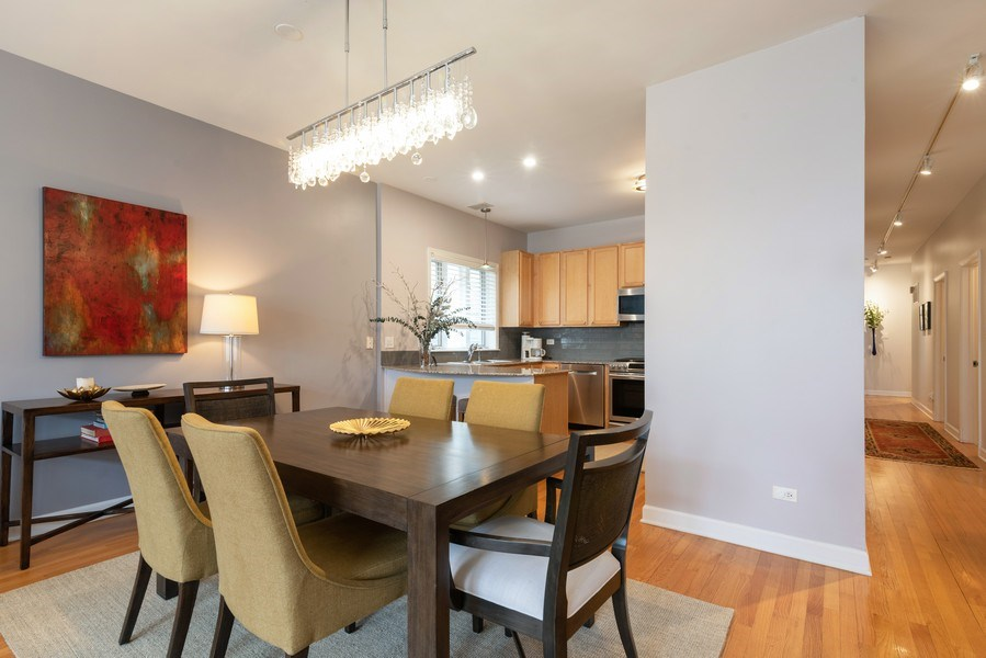 Real Estate Photography - 4641 N Magnolia Avenue, Chicago, IL, 60640 - Kitchen / Dining Room