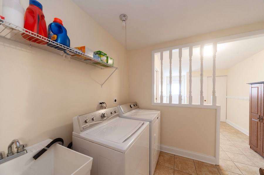 Real Estate Photography - 1141 Dawes Street, Libertyville, IL, 60048 - Laundry Room