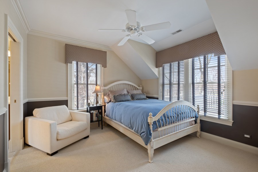 Real Estate Photography - 32 Hawthorne, Lake Bluff, IL, 60044 - 4th Bedroom