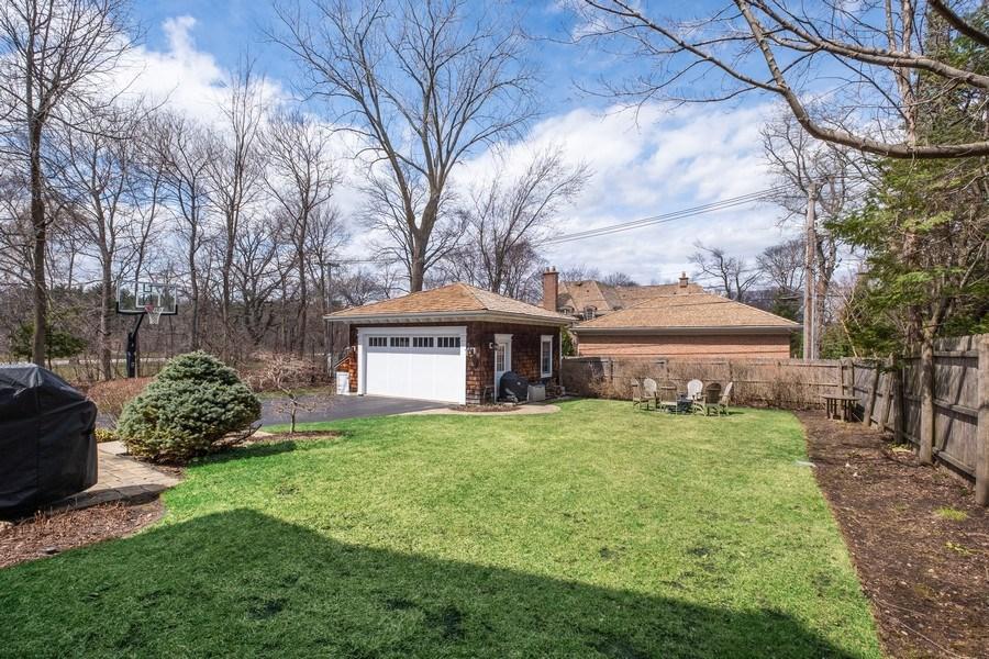 Real Estate Photography - 32 Hawthorne, Lake Bluff, IL, 60044 - Back Yard