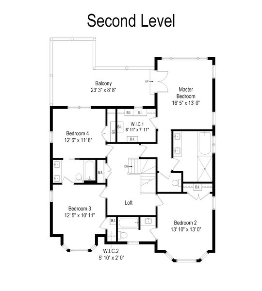 Real Estate Photography - 32 Hawthorne, Lake Bluff, IL, 60044 - Floor Plan