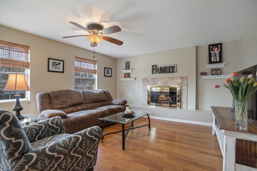 Real Estate Photography - 6 S. Waterman Ave., Arlington Heights, IL, 60004 - Family Room