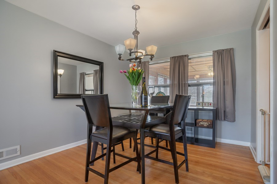 Real Estate Photography - 6 S. Waterman Ave., Arlington Heights, IL, 60004 - Dining Area