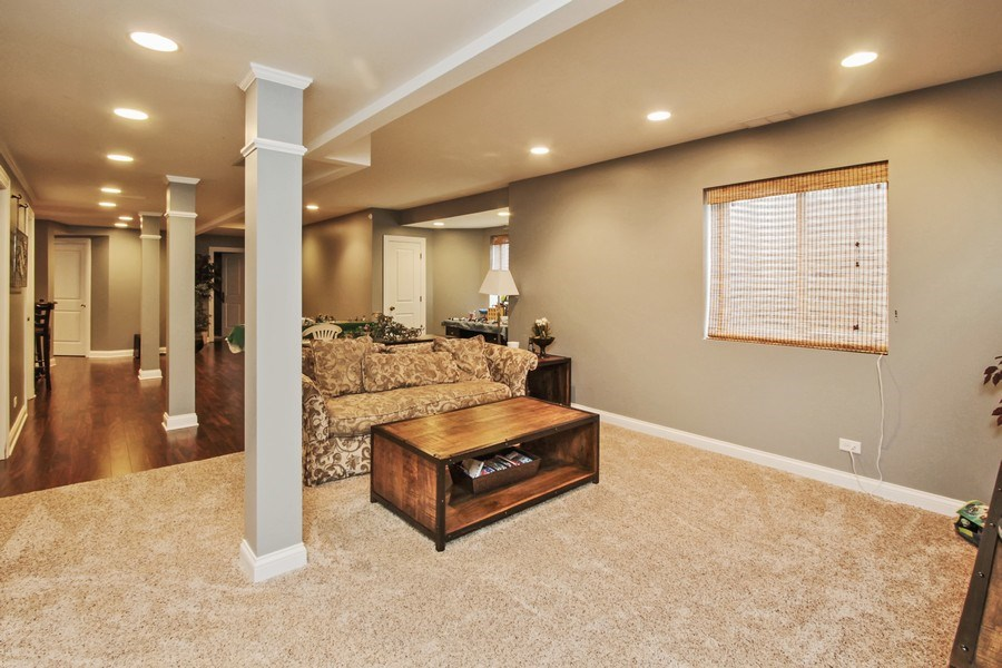 Real Estate Photography - 1125 Emmons Ct, Lake Forest, IL, 60045 - Lower Level