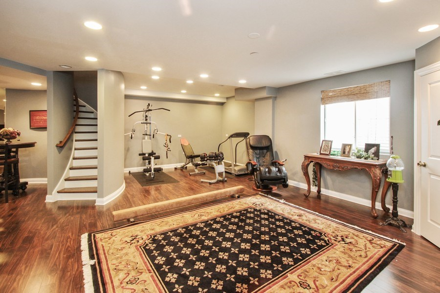 Real Estate Photography - 1125 Emmons Ct, Lake Forest, IL, 60045 - Recreational Room