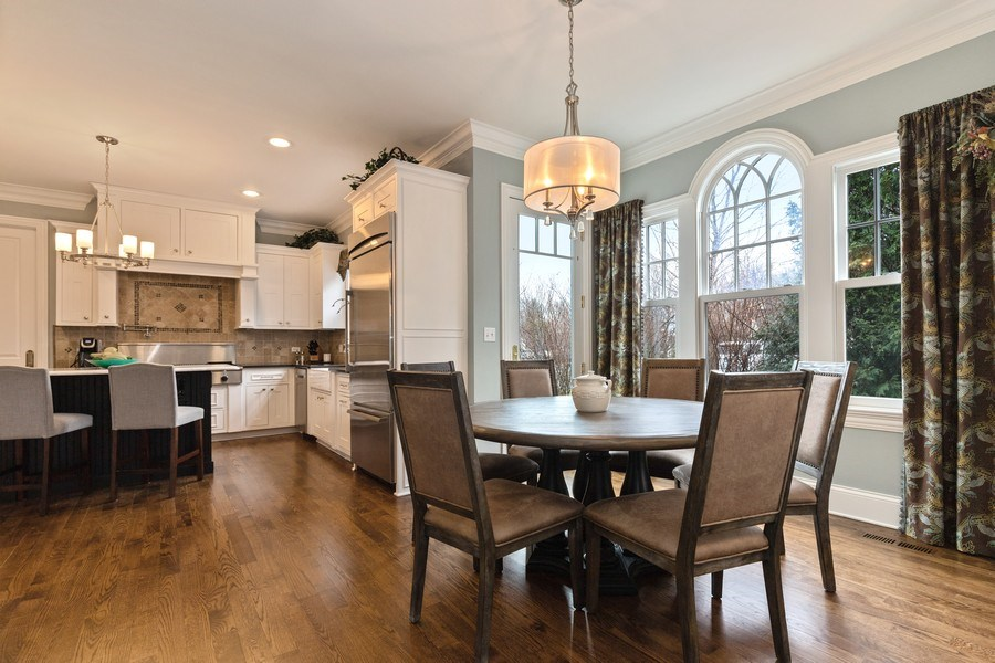 Real Estate Photography - 1125 Emmons Ct, Lake Forest, IL, 60045 - Kitchen / Breakfast Room