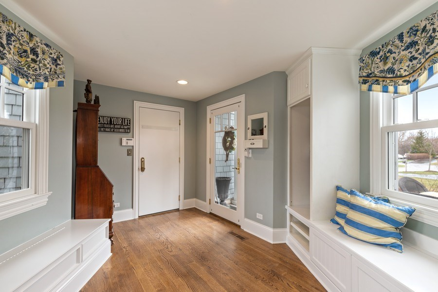 Real Estate Photography - 1125 Emmons Ct, Lake Forest, IL, 60045 - Mudroom