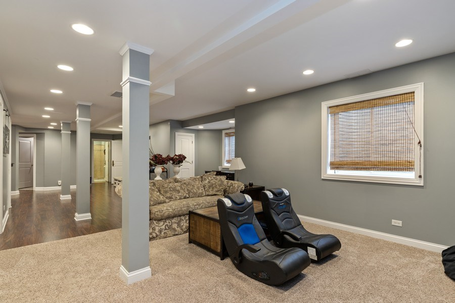 Real Estate Photography - 1125 Emmons Ct, Lake Forest, IL, 60045 - Recreation Room