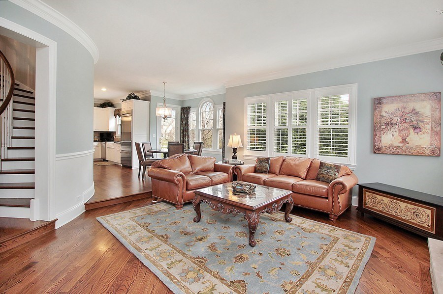 Real Estate Photography - 1125 Emmons Ct, Lake Forest, IL, 60045 - Family Room