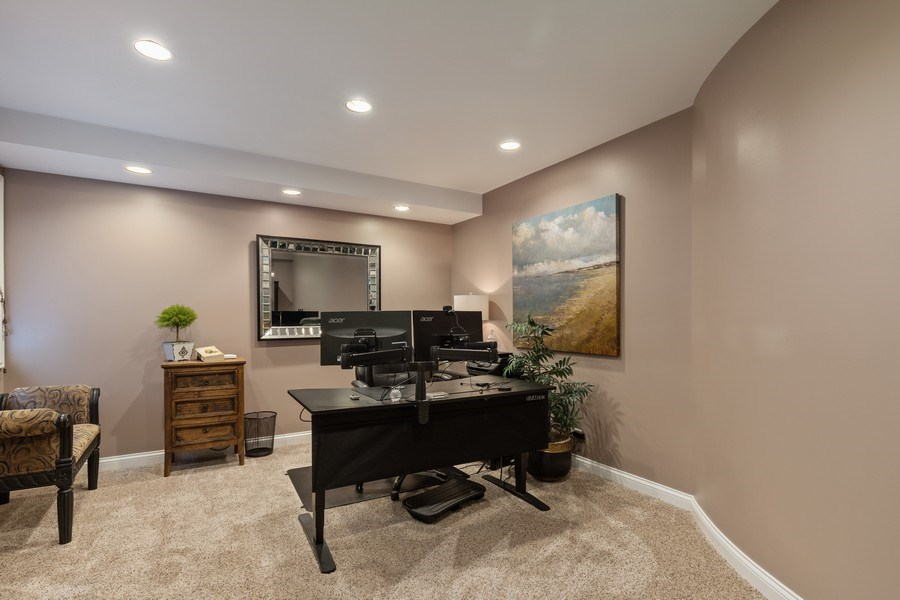 Real Estate Photography - 1125 Emmons Ct, Lake Forest, IL, 60045 - 5th Bedroom/Office