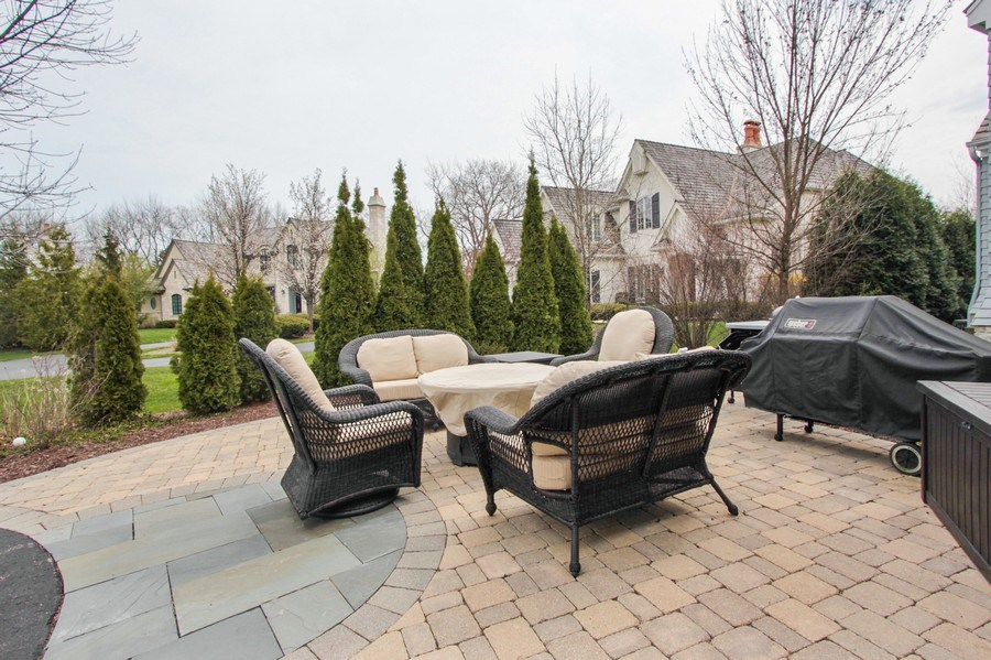 Real Estate Photography - 1125 Emmons Ct, Lake Forest, IL, 60045 - Patio