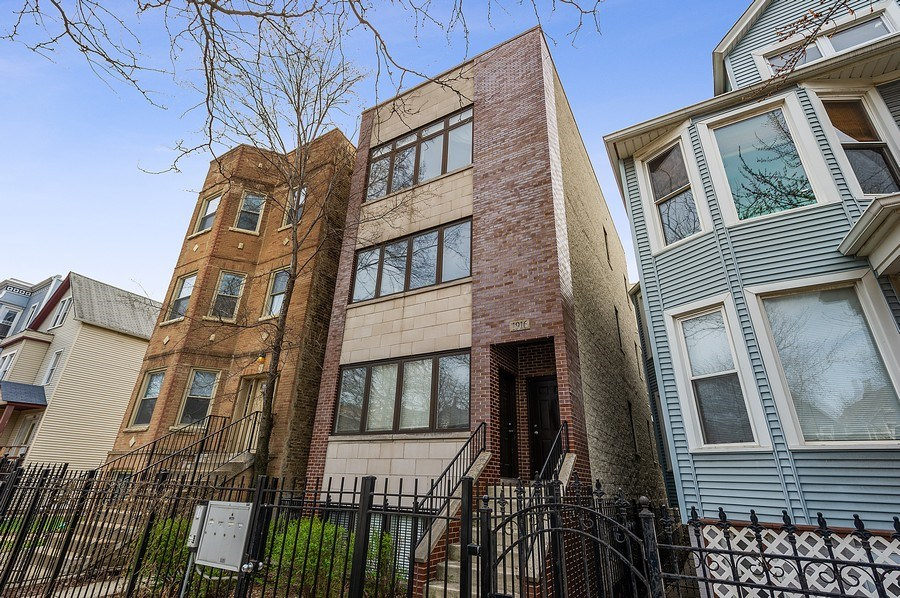 Real Estate Photography - 1916 N. Kedzie Ave., #1F, Chicago, IL, 60647 - Front View