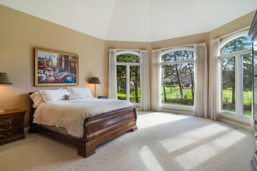 Real Estate Photography - 845 S Belmont Ave, Arlington Heights, IL, 60005 - Master Bedroom