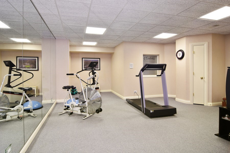 Real Estate Photography - 845 S Belmont Ave, Arlington Heights, IL, 60005 - Exercise Room