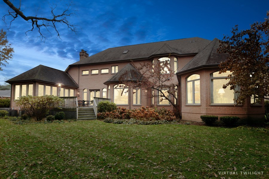 Real Estate Photography - 845 S Belmont Ave, Arlington Heights, IL, 60005 - Rear View