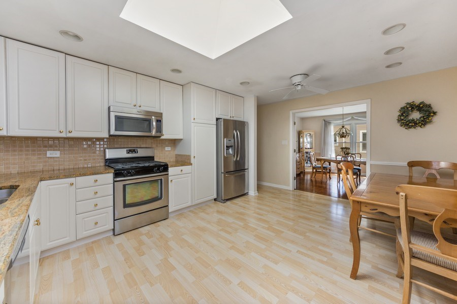 Real Estate Photography - 25 N Forrest, Arlington Heights, IL, 60004 - Kitchen / Breakfast Room