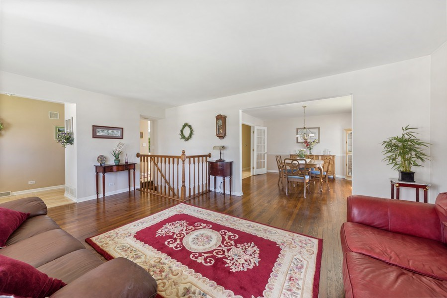 Real Estate Photography - 25 N Forrest, Arlington Heights, IL, 60004 - Living Room / Dining Room