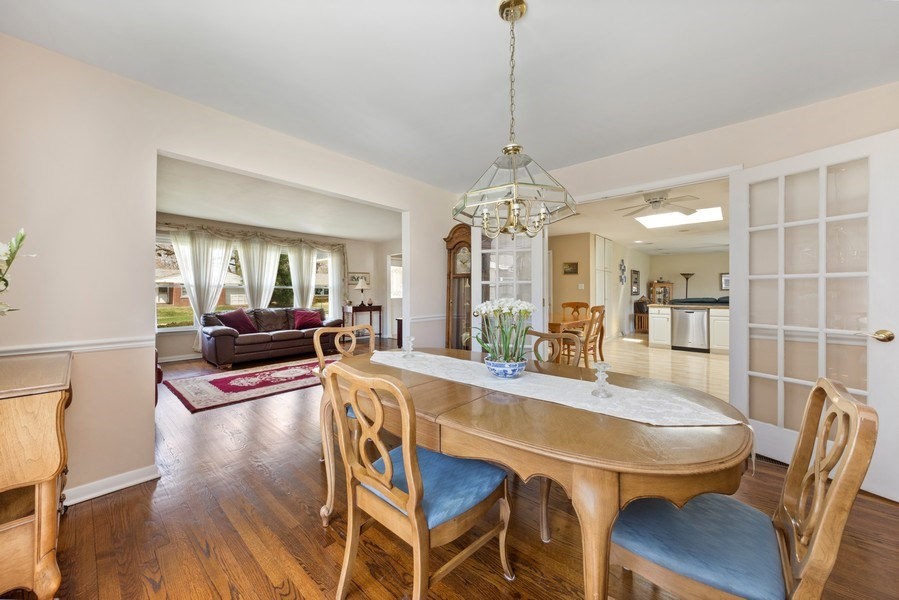 Real Estate Photography - 25 N Forrest, Arlington Heights, IL, 60004 - Living Room/Dining Room