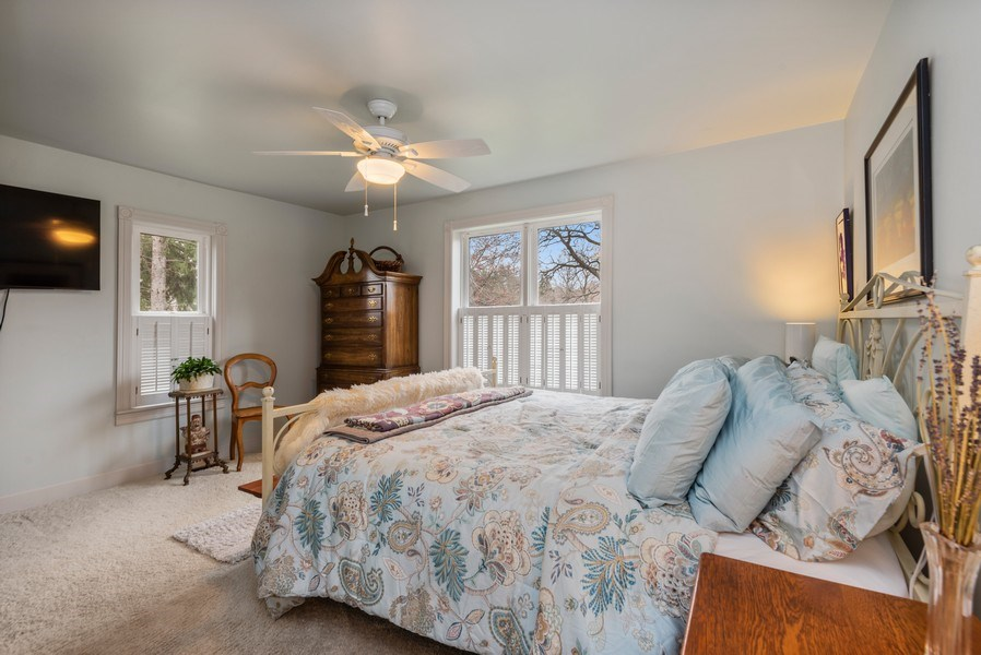 Real Estate Photography - 639 W. Lemon Creek Road, Baroda, MI, 49101 - Master Bedroom