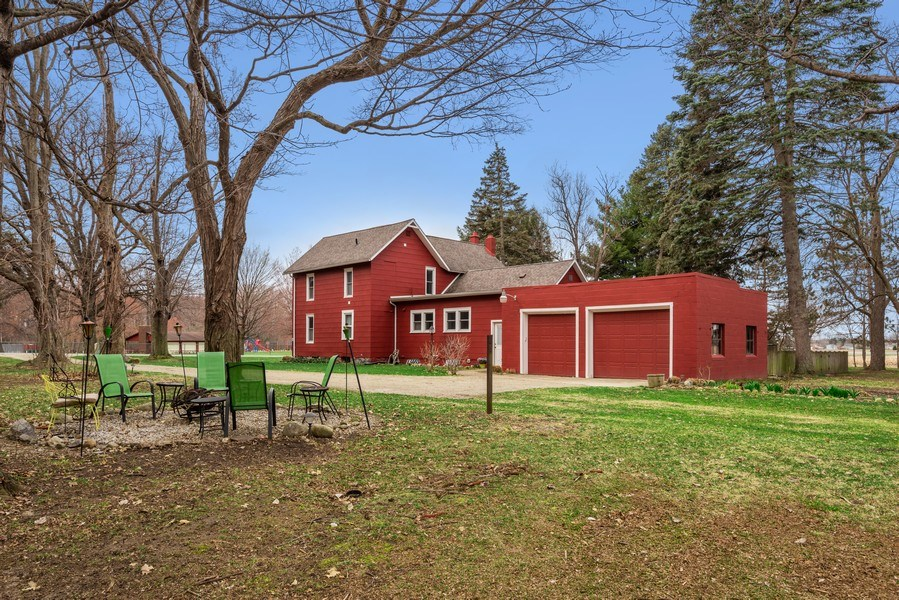 Real Estate Photography - 639 W. Lemon Creek Road, Baroda, MI, 49101 - Side View