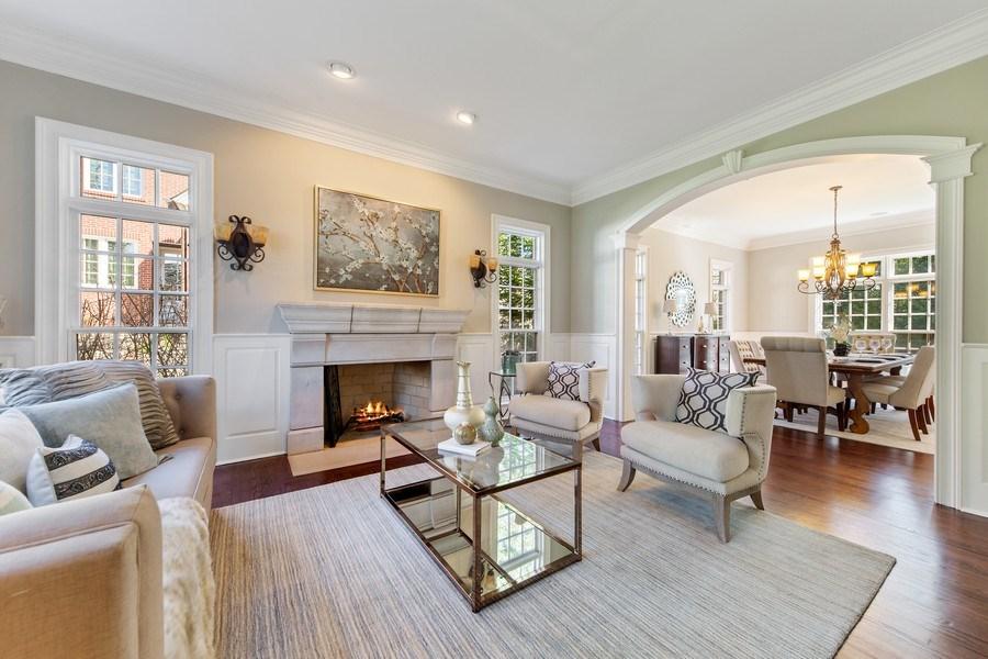 Real Estate Photography - 107 N Bruner St, Hinsdale, IL, 60521 - Living Room
