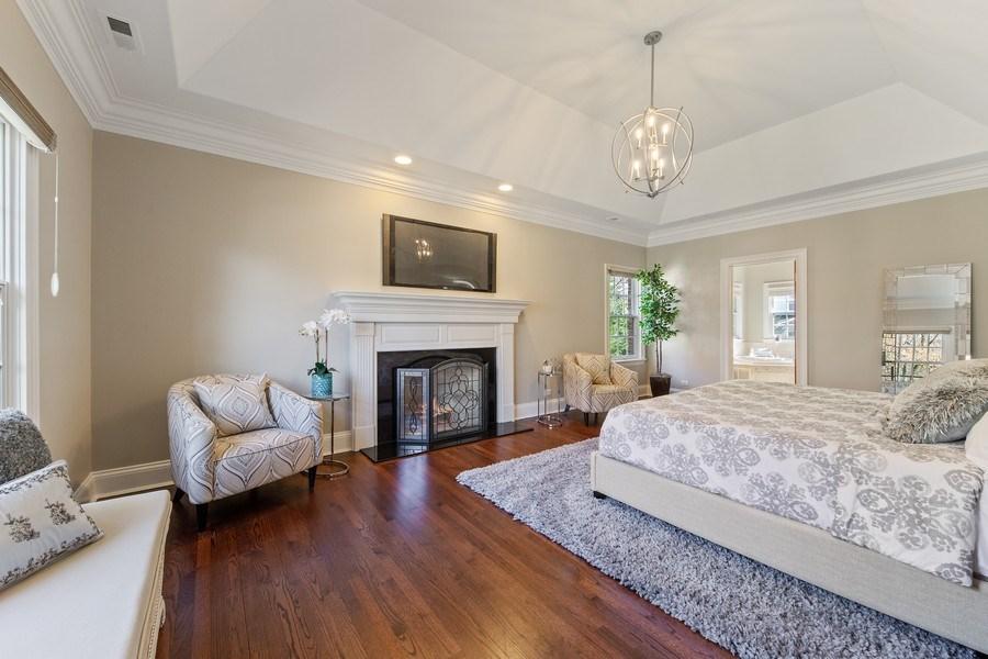 Real Estate Photography - 107 N Bruner St, Hinsdale, IL, 60521 - Master Bedroom
