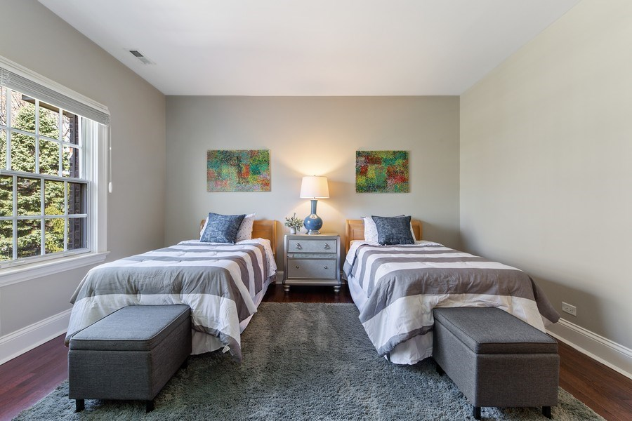 Real Estate Photography - 107 N Bruner St, Hinsdale, IL, 60521 - 2nd Bedroom
