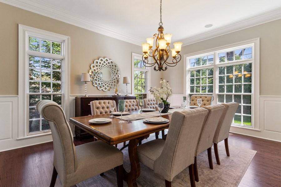 Real Estate Photography - 107 N Bruner St, Hinsdale, IL, 60521 - Dining Room