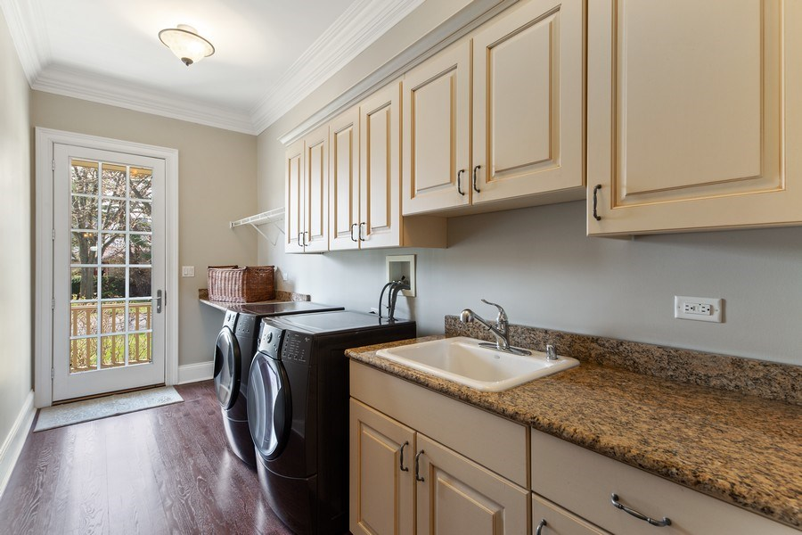 Real Estate Photography - 107 N Bruner St, Hinsdale, IL, 60521 - Laundry Room