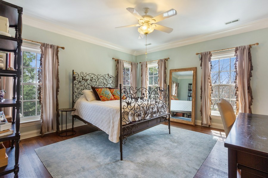 Real Estate Photography - 900 Lake St, Libertyville, IL, 60048 - 2nd Bedroom
