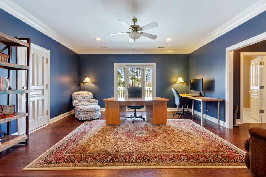 Real Estate Photography - 900 Lake St, Libertyville, IL, 60048 - 3rd Bedroom