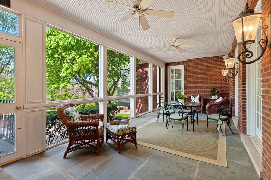 Real Estate Photography - 900 Lake St, Libertyville, IL, 60048 - Sunroom