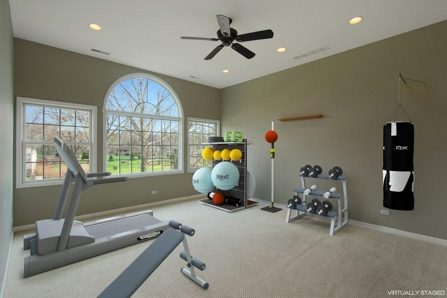 Real Estate Photography - 552 Welch Cir, Lake Barrington, IL, 60010 - Bonus Room