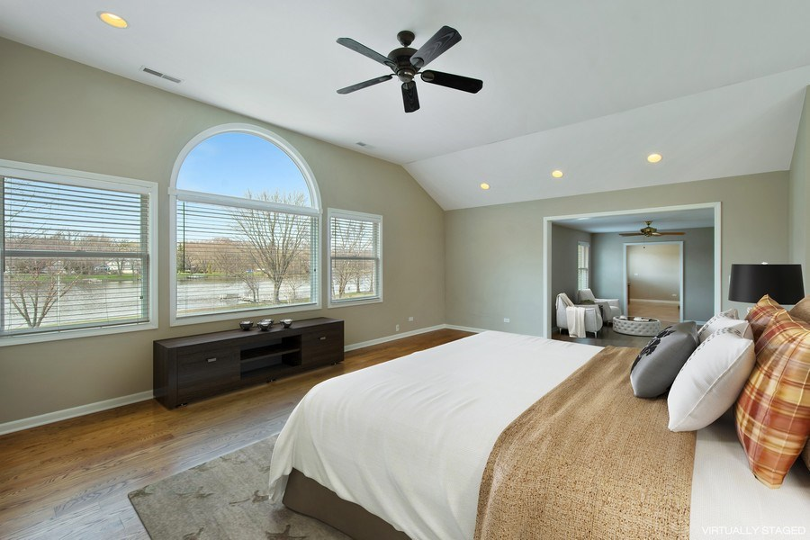 Real Estate Photography - 552 Welch Cir, Lake Barrington, IL, 60010 - Master Bedroom