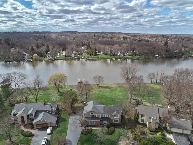 Real Estate Photography - 552 Welch Cir, Lake Barrington, IL, 60010 - Aerial View